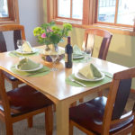 Friday Harbor Vacation Rental Dining Room