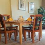 Vacation Rental Friday Harbor Dining Table